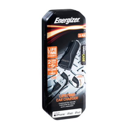 Picture of Energizer Fast Car Charger & Lightning Cable
