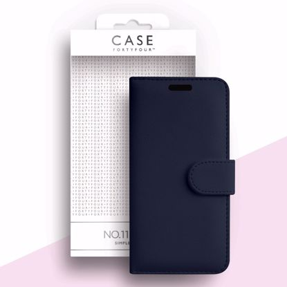 Picture of Case FortyFour Case FortyFour No.11 for Samsung Galaxy A51 in Cross Grain Dark Blue