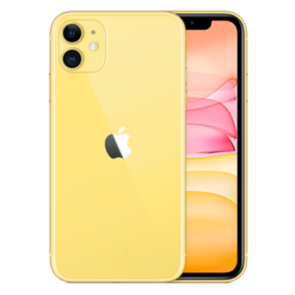 Picture of Apple iPhone 11 256GB Yellow (MHDT3B)