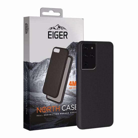 Picture of Eiger Eiger North Case for Samsung Galaxy S21 Ultra in Black