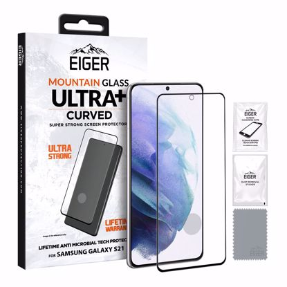 Picture of Eiger Eiger GLASS Mountain ULTRA+ Super Strong Screen Protector for Samsung Galaxy S21