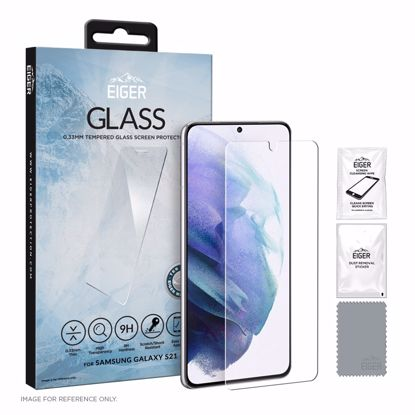 Picture of Eiger Eiger GLASS Screen Protector for Samsung Galaxy S21